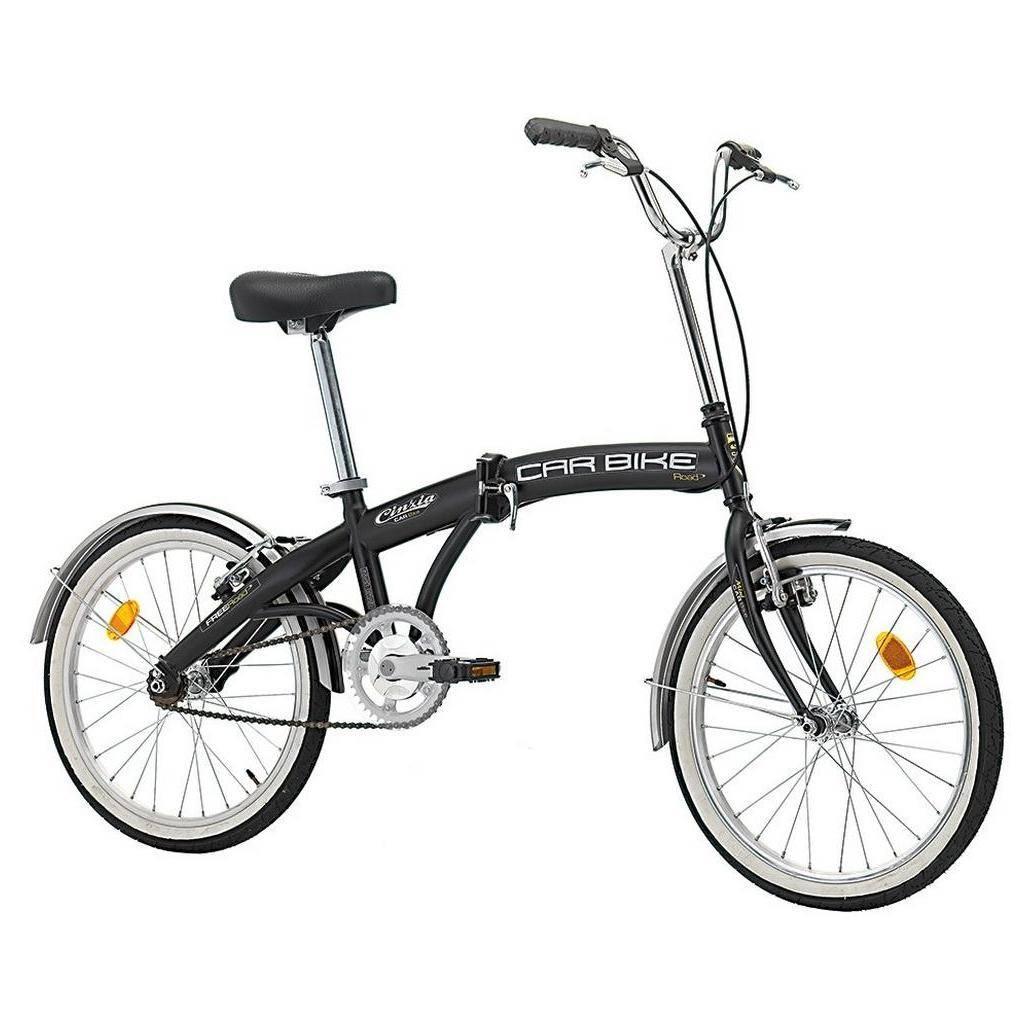velo pliable monovitesse cinzia car bike avec roues de 20 pouces. Black Bedroom Furniture Sets. Home Design Ideas